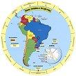 Опознай държавите и континентите - Южна Америка и Антрактида -