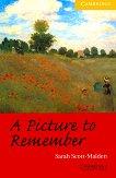 Cambridge English Readers - Ниво 2: Elementary/Lower : A Picture to Remember - Sarah Scott-Malden - книга