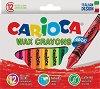 Восъчни пастели - Jumbo - Комплект от 12 цвята -