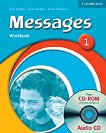 Messages: Учебна система по английски език : Ниво 1 (A1): Учебна тетрадка + CD - Diana Goodey, Noel Goodey, Karen Thompson -