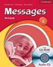 Messages: Учебна система по английски език : Ниво 4 (B1): Учебна тетрадка + CD - Diana Goodey, Noel Goodey, Meredith Levy - учебна тетрадка