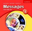 Messages: Учебна система по английски език Ниво 4 (B1): 2 CD с упражненията за слушане от учебника - учебна тетрадка