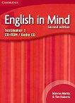 English in Mind - Second Edition: Учебна система по английски език Ниво 1 (A1 - A2): CD-ROM с генератор на тестове + аудио CD - учебна тетрадка
