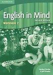 English in Mind - Second Edition: Учебна система по английски език : Ниво 2 (A2 - B1): Учебна тетрадка - Herbert Puchta, Jeff Stranks - учебник