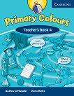 Primary Colours: Учебна система по английски език : Ниво 4 (A2): Книга за учителя - Diana Hicks, Andrew Littlejohn -