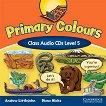 Primary Colours: Учебна система по английски език : Ниво 5 (A2): 2 CD с песните, историите и упражненията от учебника - Diana Hicks, Andrew Littlejohn -