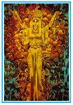 Поздравителна картичка - Златна есен -
