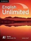 English Unlimited - Starter (A1): 2 CD с аудиоматериали по английски език - Adrian Doff -