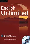 English Unlimited - Starter (A1): Учебна тетрадка по английски език + DVD-ROM - Adrian Doff, Nick Robinson -