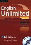 English Unlimited - Starter (A1): Учебна тетрадка по английски език + DVD-ROM - продукт