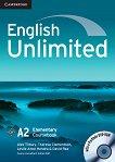 English Unlimited - ниво Elementary (A2): Учебник + DVD-ROM Учебна система по английски език - продукт