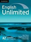 English Unlimited - ниво Elementary (A2): 3 CD с аудиоматериали за тестовете от ръководството за учителя : Учебна система по английски език - Alex Tilbury, Theresa Clementson, David Rea, Leslie Anne Hendra -