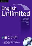 English Unlimited - Pre-intermediate (B1): Книга за учителя по английски език + DVD-ROM - Adrian Doff, Howard Smith -