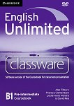 English Unlimited - Pre-intermediate (B1): DVD-ROM по английски език с интерактивна версия на учебника - Alex Tilbury, Theresa Clementson, Leslie Anne Hendra, David Rea -
