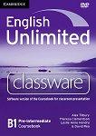 English Unlimited - Pre-intermediate (B1): DVD-ROM по английски език с интерактивна версия на учебника - продукт