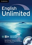 English Unlimited - Intermediate (B1 - B2): Учебник по английски език + DVD-ROM - David Rea, Theresa Clementson - учебна тетрадка