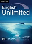 English Unlimited - Intermediate (B1 - B2): 3 CD с аудиоматериали по английски език - David Rea, Theresa Clementson -