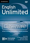 English Unlimited - Intermediate (B1 - B2): DVD-ROM по английски език с интерактивна версия на учебника - David Rea, Theresa Clementson, Alex Tilbury, Leslie Anne Hendra -