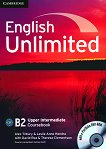 English Unlimited - Upper-Intermediate (B2): Учебник по английски език + DVD-ROM - Alex Tilbury, Leslie Anne Hendra -
