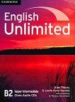 English Unlimited - Upper-Intermediate (B2): 3 CD с аудиматериали по английски език - продукт