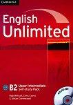 English Unlimited - Upper Intermediate (B2): Учебна тетрадка по английски език + DVD-ROM - продукт