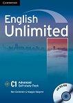 English Unlimited - ниво Advanced (C1): Учебна тетрадка по английски език + DVD-ROM -
