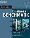 Business Benchmark: Учебна система по английски език : Ниво Advanced: Учебник - Guy Brook-Hart - продукт