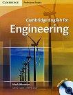Cambridge English for Engineering: Учебен курс по английски език : Ниво B1 - B2: Учебник за инженери + 2 CD's - Mark Ibbotson -