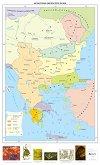 Югоизточна Европа през XIV век - Стенна карта -