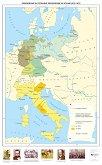 Обединение на Германия. Обединение на Италия (1870 - 1871 г. ) - Стенна карта -