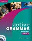 Active Grammar: Учебна система по английски език : Ниво 3: Книга с отговори + CD - Fiona Davis, Wayne Rimmer -