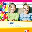 Fabuli: Учебна система по немски език за деца : Ниво A1: CD с аудиоматериали за задачите от учебника - Sigrid Xanthos-Kretzschmer, Jutta Douvitsas-Gamst -