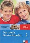 Das neue Deutschmobil: Учебна система по немски език : Ниво 2 (A2): Учебник + CD - Sigrid Xanthos-Kretzschmer, Jutta Douvitsas-Gamst, Eleftherios Xanthos -