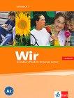 Wir: Учебна система по немски език : Ниво 2 - A2: Учебник + CD -