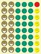 Самозалепващи стикери - Mr. Smiley