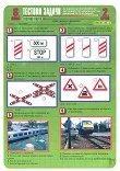 Тестови задачи по безопасност на движението по пътищата: Тестова карта за 8. клас - 2. срок - помагало