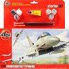 Военен изтребител - Eurofighter Typhoon - Сглобяем авиомодел - комплект за начинаещи -