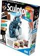 """Създай сам фигурка от глина - Коте - Творчески комплект от серията """"Sculptor"""" -"""