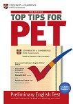 The Official Top Tips for PET + CD-ROM : Ниво B1: Учебно помагало -