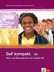 DaF kompakt: Учебна система по немски език : Ниво A2: Учебник и учебна тетрадка в едно + 2CD - Ilse Sander, Bigrit Braun, Margit Doubek, Andrea Frater-Vogel, Ulrike Trebesius-Bensch, Rosanna Vitale -