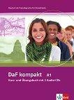 DaF kompakt: Учебна система по немски език : Ниво A1: Учебник и учебна тетрадка в едно + 2CD - Ilse Sander, Bigrit Braun, Margit Doubek, Andrea Frater-Vogel, Ulrike Trebesius-Bensch, Rosanna Vitale -