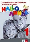 Hallo Anna - Ниво 1: Флашкарти + книга за учителя на CD-ROM : Учебна система по немски език за деца - Olga Swerlowa, Katarzyna Sroka -