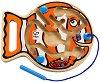 Лабиринт - Риба - Логическа игра -
