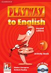 Playway to English - ниво 1: Учебна тетрадка по английски език + CD-ROM Second Edition -