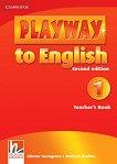 Playway to English - ниво 1: Книга за учителя по английски език : Second Edition - Herbert Puchta, Gunter Gerngross -