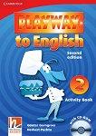 Playway to English - ниво 2: Учебна тетрадка по английски език + CD-ROM : Second Edition - Herbert Puchta, Gunter Gerngross -