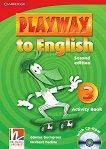 Playway to English - ниво 3: Учебна тетрадка по английски език + CD-ROM : Second Edition - Herbert Puchta, Gunter Gerngross -