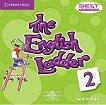 The English Ladder: Учебна система по английски език Ниво 2: 2 CD с аудиоматериали за упражненията от учебника -