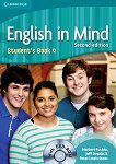 English in Mind - Second Edition: Учебна система по английски език : Ниво 4 (B2): Учебник + DVD-ROM - Herbert Puchta, Jeff Stranks, Peter Lewis-Jones - учебник
