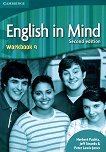English in Mind - Second Edition: Учебна система по английски език Ниво 4 (B2): Учебна тетрадка -